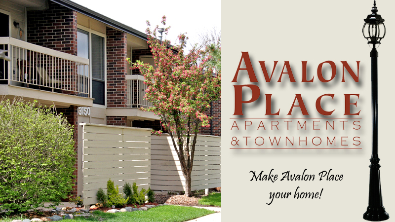 Avalon Place apartments and townhomes in DeWitt, Mi